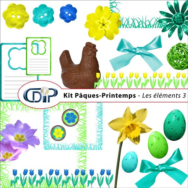 Kit « Pâques-printemps » - 04 - Les embellissements 3