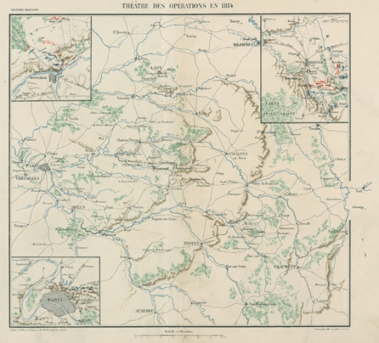 07-carte-militaire-1814-Theatre-des-operations