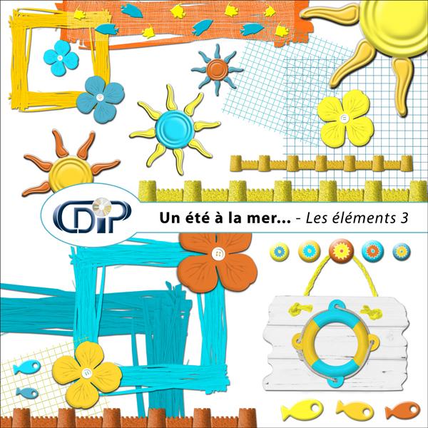 Kit « Un été à la mer… » - 04 - Les embellissements 3