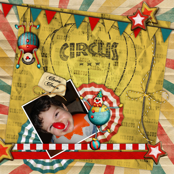 kit r tro circus en t l chargement cdip boutique logiciel de g n alogie et scrapbooking. Black Bedroom Furniture Sets. Home Design Ideas