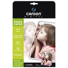 Canson® Digital Everyday papier photo mat double face 170g A4 50 feuilles