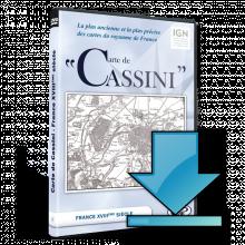 Cassini - 00 - Carte de Cassini en téléchargement