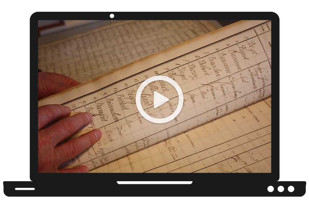 Formation RFG en ligne - Archives notariales