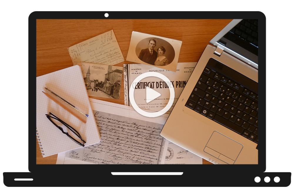 formation RFG en ligne organiser son travail généalogique