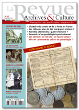 La revue archives et culture - 15