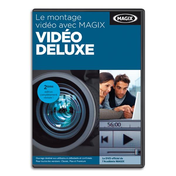 MAGIX Vidéo deluxe - DVD - apprentissage