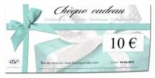 Chèque cadeau - 10