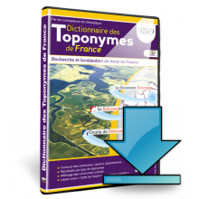 Dictionnaire des Toponymes de France - Packaging - Telechargement