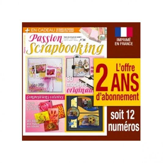 Livres-scrapbooking-Passion scrapbooking-2ans