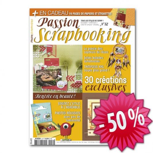 Passion Scrapbooking - 2 ans - 50 pourcent
