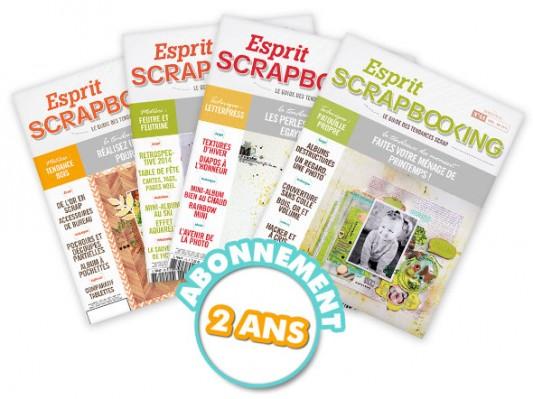 Livres-scrapbooking-Esprit scrapbooking- Abt 2 ans