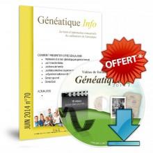 Ginfo - 00 - Abonnement « Généatique Info » - video formation - offert
