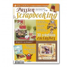 Abonnement 2 ans au magazine Passion Scrapbooking