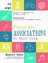 affiche forum associations web