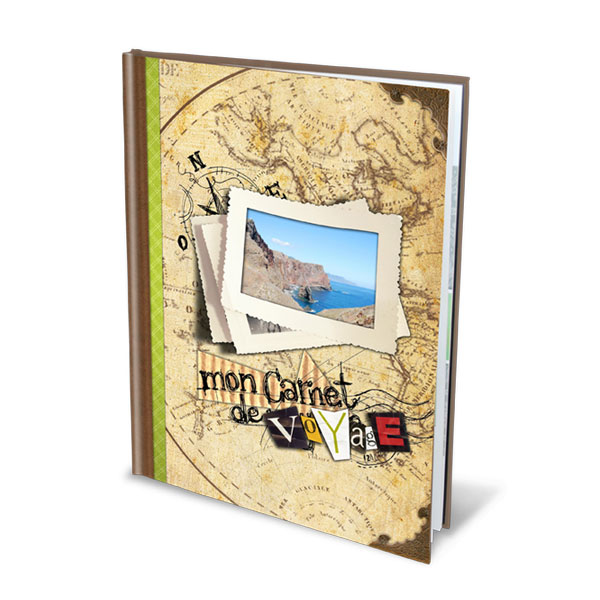 Impression d'album - Format A4 portrait couverture rigide