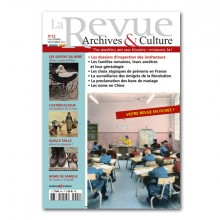 La revue archives et culture - 12