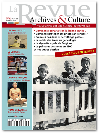 Archives et Culture n°13