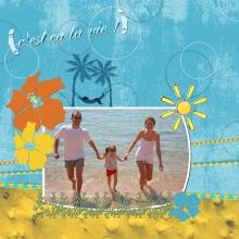 Kit « Un été à la mer… » - 09 - Composition