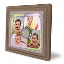 collage frame baby love web