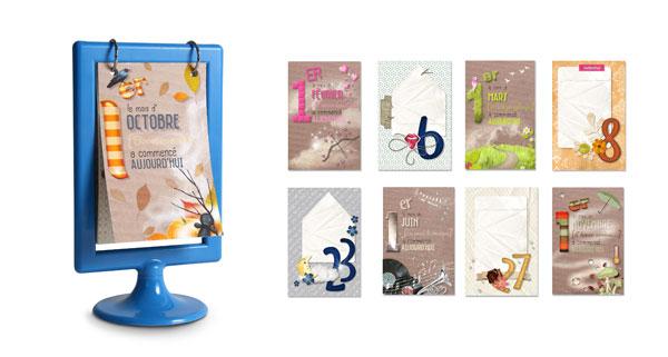 pack calendriers 2016 en t l chargement cdip boutique logiciel de g n alogie et scrapbooking. Black Bedroom Furniture Sets. Home Design Ideas