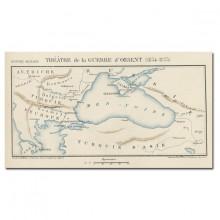 carte-1854-1855-Theatre-de la-guerre-d-Orient