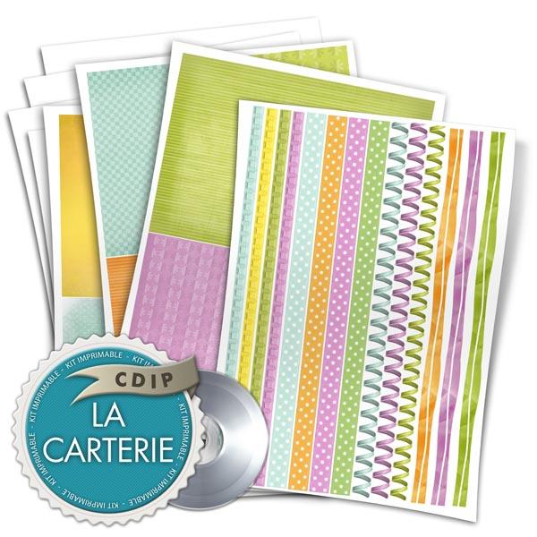 Carterie collection Souffle printanier  - 02 - Presentation