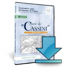 Cassini - 01 - Carte de Cassini en téléchargement