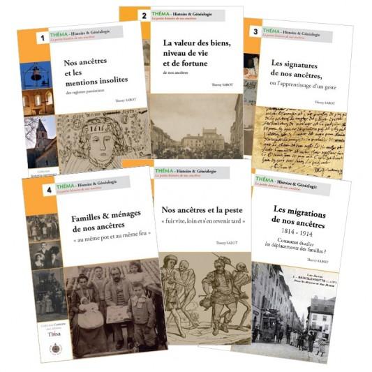 Collection Théma 1 à 6 - Editeur Thisa