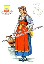 costumes traditionnels italiens lazio