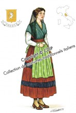 costumes traditionnels italiens umbria