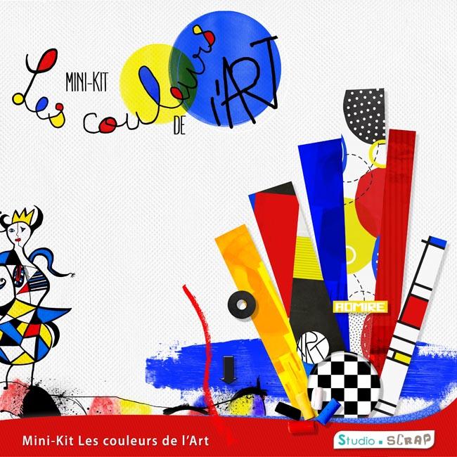 Mini-kit « Les couleurs de l'art » en téléchargement