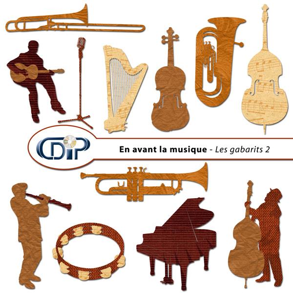 Kit « En avant la musique » - 06 - Les gabarits 2
