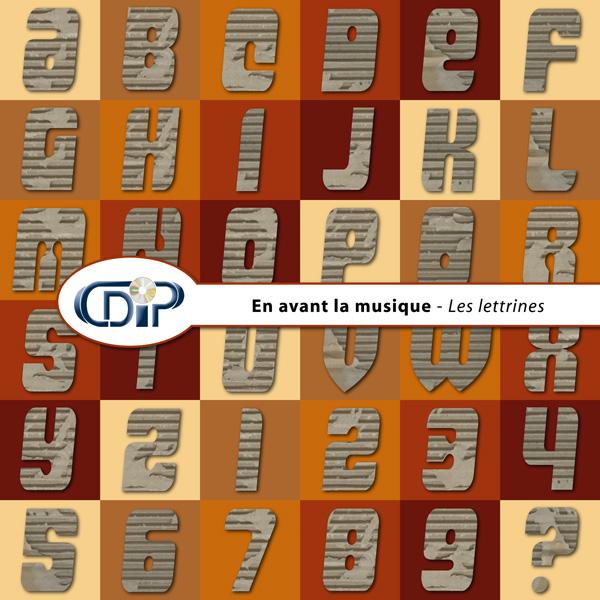 Kit « En avant la musique » - 07 - Les lettrines