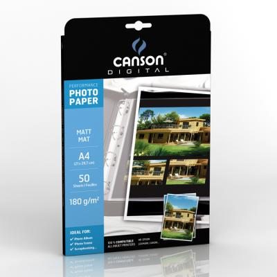 Papiers - 11 - Canson Performance Photo Paper Mat
