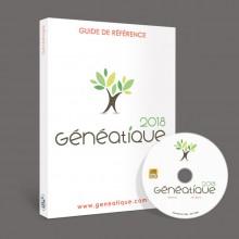 Guide de référence et CD-Rom de Généatique 2018