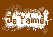je t'aime illustration