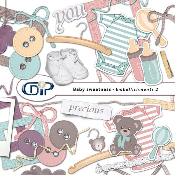 """Baby sweetness"" digital kit - 03 - Embellishments 2"