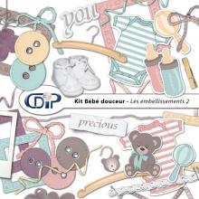 Kit « Bebe douceur » - 03 - Les embellissements 2