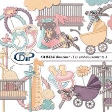 Kit « Bebe douceur » - 04 - Les embellissements 3