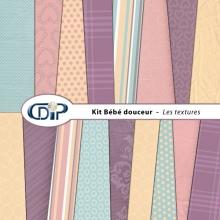 Kit « Bebe douceur » - 01 - Les textures