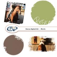 """""""Horse"""" digital kit - 08 - Masks"""