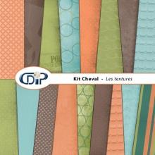 Kit « Cheval » - 01 - Les textures