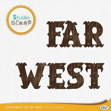 chroniques du far west lettrines