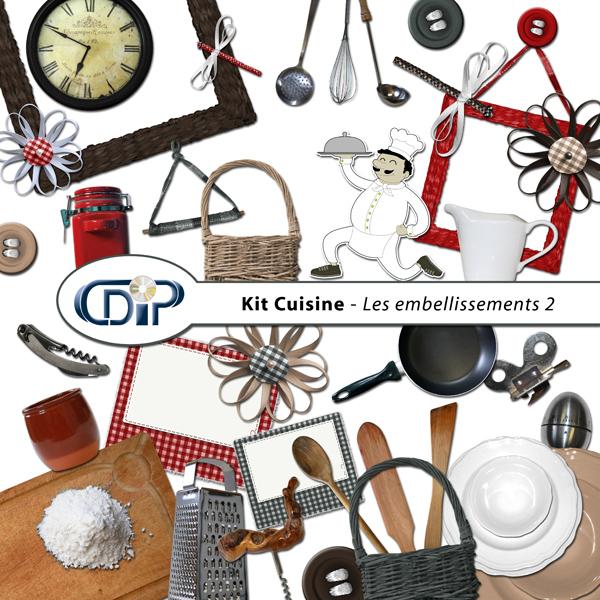 Kit « Cuisine » - 03 - Les embellissements 2