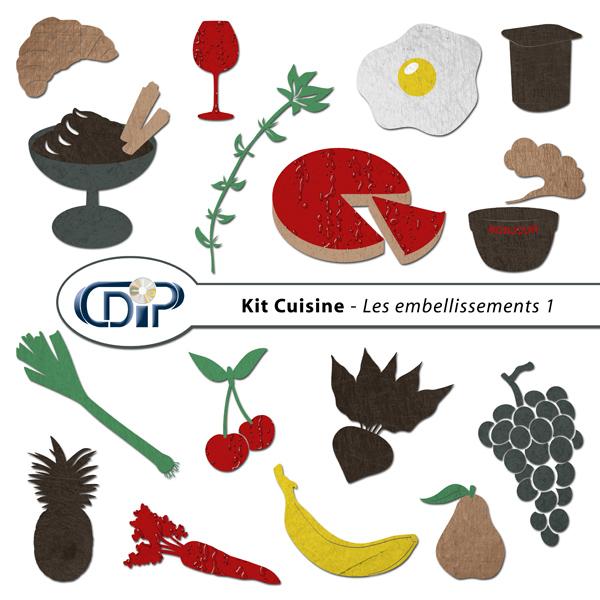 Kit « Cuisine » - 05 - Les gabarits 1