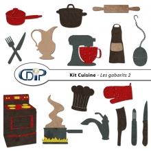 Kit « Cuisine » - 06 - Les gabarits 2