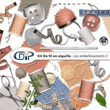 Kit « De fil en aiguille » - 04 - Les embellissements 3