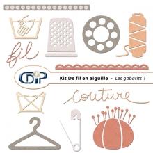 Kit « De fil en aiguille » - 05 - Les gabarits 1