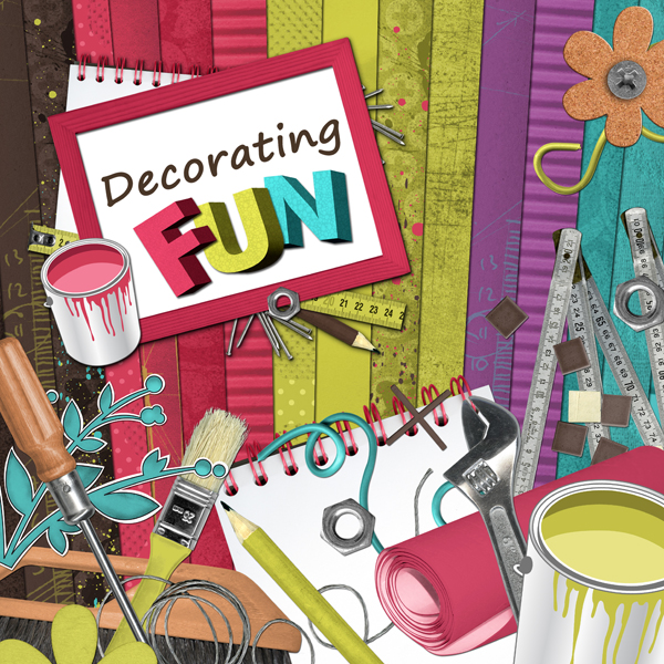 """Decorating fun"" digital kit - 00 - Presentation"