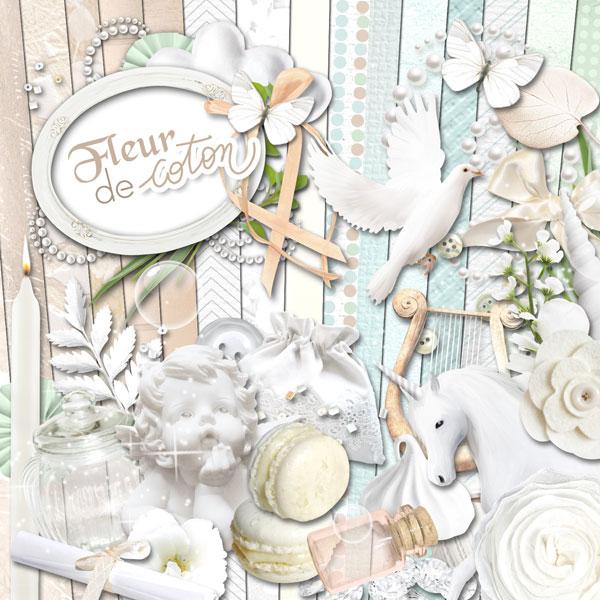 Kit « Fleur de coton » - 00 - Présentation